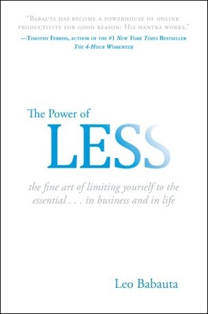 bookcover3 The Power of Less