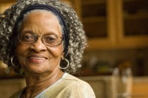 wise elderly lady