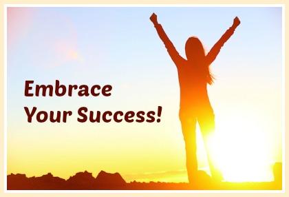 embrace your success