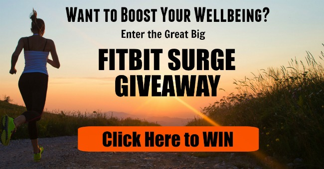 Fitbit Surge Giveaway