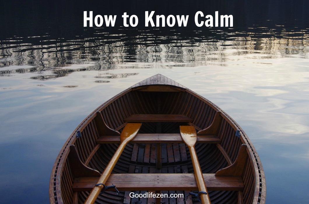 know calm