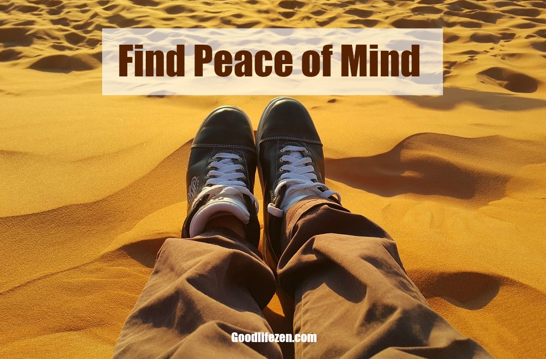 find peace of mind