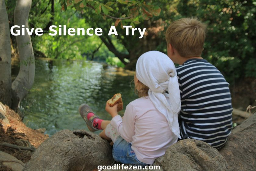 silence is more important then you think