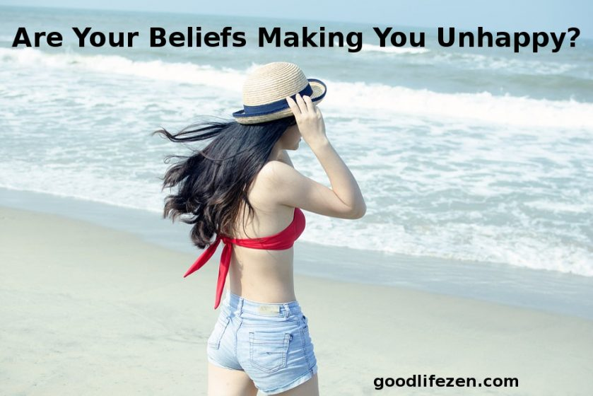 beliefs making you unhappy