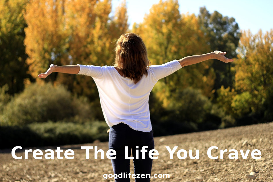 Live The Life You Crave - Woman arms outstretched