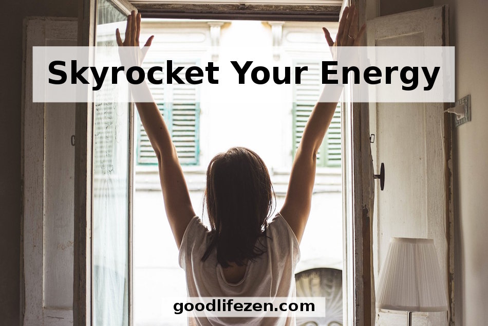 need Energy Now - Woman with arms outstretched