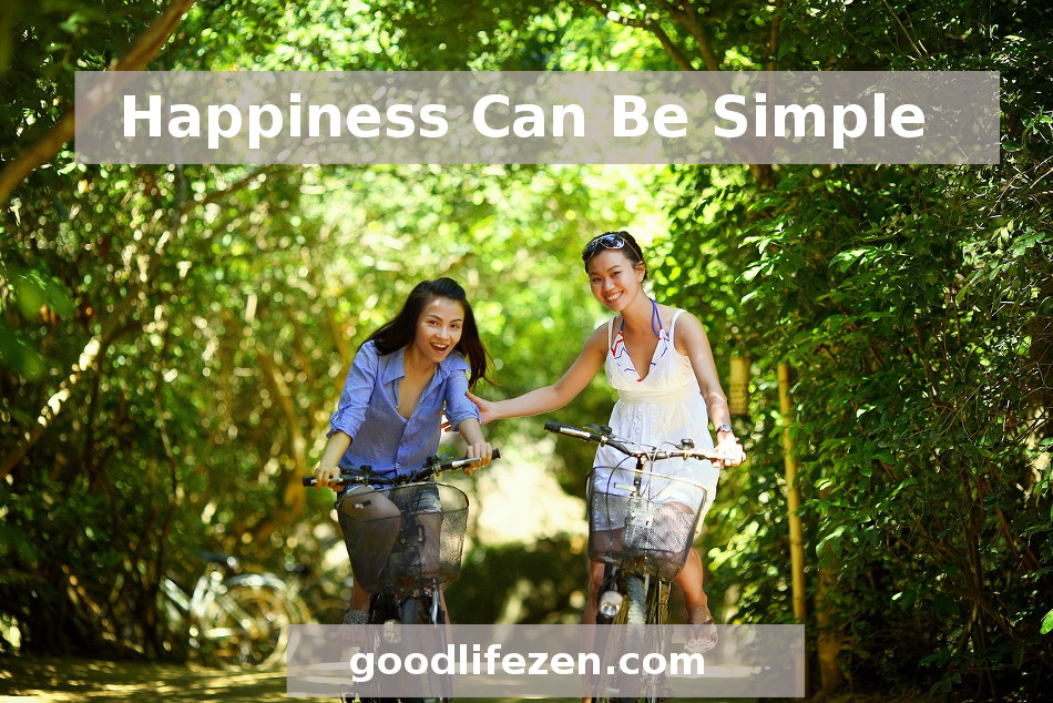 Increase Your Happiness - Women on bicycles