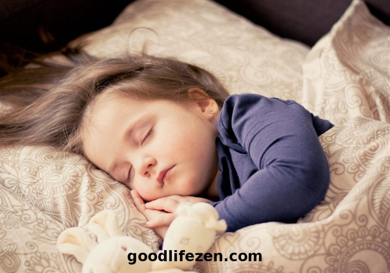 sleep mistakes - child sleeping
